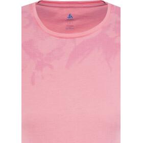 Odlo Signo Shirt S/S Crew Neck Women fleur de lotus-placed print SS17